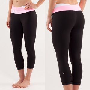 Rare! Lululemon Astro Wunder Under Crop Leggings 4
